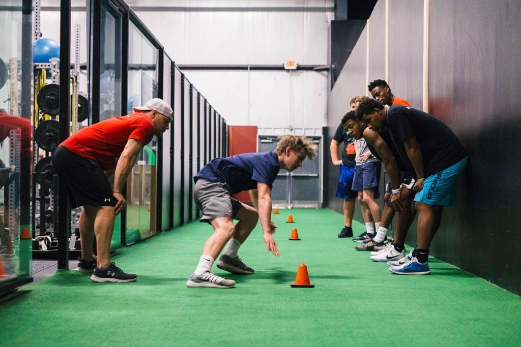 Athletic foundations training for teenagers