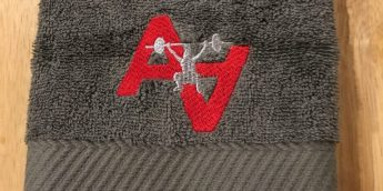 Customized Athlete's Arena Sweat Towel for the next 10 people to complete registration for #SquatforSpot