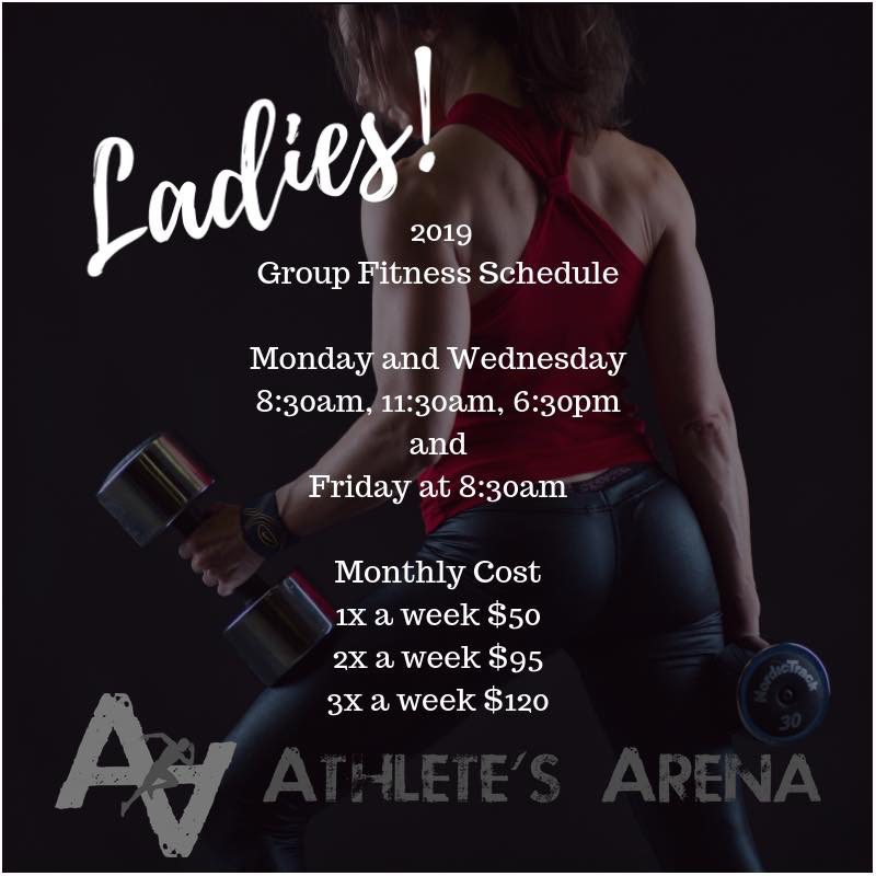 Athlete's Arena's Group Fitness