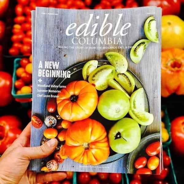 Edible columbia magazine cover