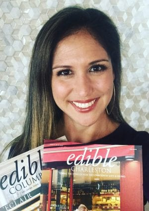 Jacquelyn McHugh, Owner/Editor of Edible Columbia